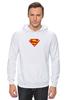 "Толстовка Wearcraft Premium унисекс ""Супермен"" - comics, супермен, superman"