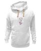 "Толстовка Wearcraft Premium унисекс ""Жираф"" - pink, жираф"
