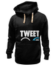 "Толстовка Wearcraft Premium унисекс ""Tweets Not War"""