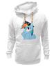 """Толстовка Wearcraft Premium унисекс """"Rainbow Dash"""" - радуга, очки, дружба, pony, rainbow dash, mlp, my little pony, пони, dash, fim"""
