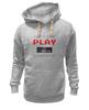 "Толстовка Wearcraft Premium унисекс ""Игрок (Геймер)"" - gamer, nintendo, геймер, player, play"