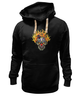 "Толстовка Wearcraft Premium унисекс ""Evil Clown"" - skull, череп, клоун, evil, clown"
