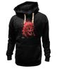 """Толстовка Wearcraft Premium унисекс """"Skull"""" - ужас, индеец, перья, индейцы, черп, дикий запад"""