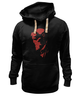 "Толстовка Wearcraft Premium унисекс ""Hellboy (Хеллбой)"" - hellboy, хеллбой, dark horse comics, анунг ун рама"