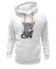 """Толстовка Wearcraft Premium унисекс """"Котёнок Saren"""" - котенок, mass effect, сарен артериус"""