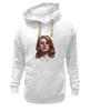 """Толстовка Wearcraft Premium унисекс """"Lana del Rey"""" - стиль, рисунок, портрет, lana, лана дель рей"""