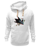"Толстовка Wearcraft Premium унисекс ""Сан-Хосе Шаркс "" - хоккей, nhl, нхл, san jose sharks, сан-хосе шаркс"