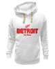 "Толстовка Wearcraft Premium унисекс ""Detroit Red Wings"" - хоккей, nhl, нхл, detroit red wings, детроит ред вингз"