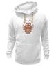 """Толстовка Wearcraft Premium унисекс """"Сова-символ мудрости."""" - сова, owl, dictum, dictum factum"""