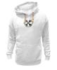 "Толстовка Wearcraft Premium унисекс ""Логотип гранж"" - сталкер, тёмная душа"