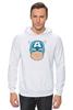 "Толстовка Wearcraft Premium унисекс ""Капитан Америка. Винтаж"" - comics, комиксы, винтаж, marvel, капитан америка, captain america, vintage look"