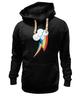 """Толстовка Wearcraft Premium унисекс """"Rainbow Dash Cutie Mark"""" - арт, rainbow dash, rainbow, выделись из толпы"""