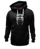 """Толстовка Wearcraft Premium унисекс """"DJ Мопс"""" - музыка, dj, pug, диджей, мопс"""