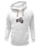 "Толстовка Wearcraft Premium унисекс ""Мотоцикл"" - мотоцикл, bike"