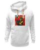 """Толстовка Wearcraft Premium унисекс """"Basquiat"""" - граффити, робот, basquiat, баския, жан-мишель баския"""