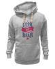 "Толстовка Wearcraft Premium унисекс ""Я Медведь (I am Bear)"" - bear, россия, russia, я медведь, i am a bear"