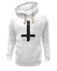 "Толстовка Wearcraft Premium унисекс ""Крест"" - крест, cross, атеизм"