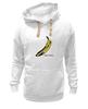 "Толстовка Wearcraft Premium унисекс ""Andy banana"" - энди уорхол, поп-арт, банан"