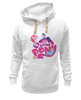 "Толстовка Wearcraft Premium унисекс ""My Little Pony: Friendship is Magic Logo"" - logo, rainbow dash, my little pony, applejack, rarity, friendship is magic, fluttershy, twilight sparkle, pinkie pie"