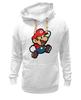 """Толстовка Wearcraft Premium унисекс """"Марио (Mario)"""" - nintendo, 90's, марио, mario bros"""