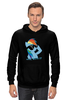 "Толстовка Wearcraft Premium унисекс ""deal with it"" - pony, rainbow dash, mlp, дэш, радуга дэш"