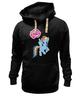 "Толстовка Wearcraft Premium унисекс ""my little pony"" - радуга, my little pony, пони, аниме, для детей"