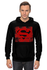 "Толстовка Wearcraft Premium унисекс ""Superman "" - comics, супермен, комиксы, superman, герой, супермэн, dc, superhero, hero"