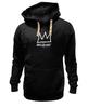 "Толстовка Wearcraft Premium унисекс ""Basquiat"" - граффити, корона, улица, basquiat, баския"