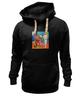 """Толстовка Wearcraft Premium унисекс """"Basquiat / Баския"""" - граффити, корона, snoopy, basquiat, уличный стиль"""