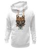"""Толстовка Wearcraft Premium унисекс """"Zero fox given"""" - прикол, арт"""