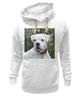 """Толстовка Wearcraft Premium унисекс """"Aksa&Boxer-Co"""" - щенок, боксер, puppy, white boxer"""