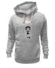 "Толстовка Wearcraft Premium унисекс ""Лев под дождем"" - leo, rain, sad lion, gloomy, мрачный лев"