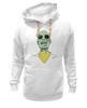 """Толстовка Wearcraft Premium унисекс """"Психоделика"""" - zombie, зомби, green, shades"""
