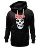 """Толстовка Wearcraft Premium унисекс """"Misfits """" - skull, череп, punk rock, misfits, панк"""