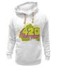 """Толстовка Wearcraft Premium унисекс """"420"""" - авторские майки"""