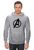 "Толстовка Wearcraft Premium унисекс ""Avengers"" - marvel, мстители, avengers"