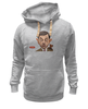 "Толстовка Wearcraft Premium унисекс ""Mr.Bean"" - mr bean, rowan atkinson, актёр, мистер бин, роуэн аткинсон"