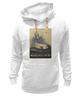 """Толстовка Wearcraft Premium унисекс """"ретро постер"""" - машина, мерседес, постер, mersedes, ретро автомобиль"""