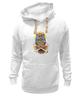 """Толстовка Wearcraft Premium унисекс """"Mysterious Owl"""" - кости, сова, owl, мистическая сова"""