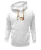 """Толстовка Wearcraft Premium унисекс """"Лис. Акварель"""" - fox, акварель, графика, лис, цветы"""