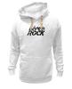 "Толстовка Wearcraft Premium унисекс ""Футболка LiveInRock"" - рок, rock"
