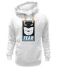 "Толстовка Wearcraft Premium унисекс ""Batman (Бэтмен)"" - страх, batman, fear, бэтмен"