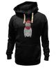 "Толстовка Wearcraft Premium унисекс ""Кот Хипстер"" - кот, арт, style, прикольные, очки, cat, хипстер, swag, hipster, shades"