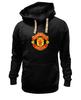 """Толстовка Wearcraft Premium унисекс """"Manchester United"""" - football, uk, манчестер юнайтед, футбольный клуб"""