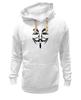 """Толстовка Wearcraft Premium унисекс """"Anonymous"""" - anonymous, анонимус, гай фокс, guy fawkes, маска вендетта"""