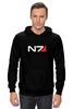 """Толстовка """"N7 (Mass Effect)"""" - mass effect, n7, масс эффект"""
