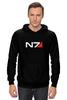 "Толстовка Wearcraft Premium унисекс ""N7 (Mass Effect)"" - mass effect, n7, масс эффект"
