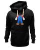 "Толстовка Wearcraft Premium унисекс ""Костюм Марио"" - nintendo, марио, mario bros, супербратья марио"