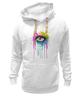 "Толстовка Wearcraft Premium унисекс ""Глаз Алмаз"" - splash, арт, авторские майки, color, eye"