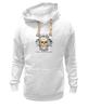 """Толстовка Wearcraft Premium унисекс """"Oblivion"""" - череп, ангел, цитата, oblivion, забвение"""